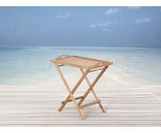 Table de jardin - table d`appoint en bois - Riviera