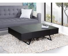Table basse - table de salon - noir - Alfena