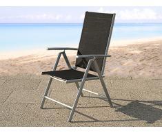 Chaise de jardin en aluminium - Catania