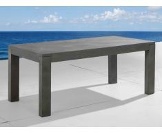 Table de jardin en béton 180 cm, Taranto