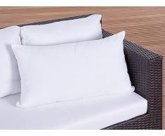 Coussin de jardin - coussin rectangulaire beige - 50x70 cm