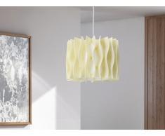 Lampe de plafond - suspension - plafonnier - luminaire crème - Moza