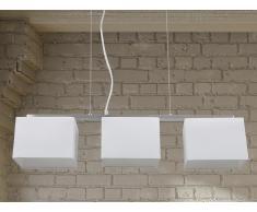 Lampe de plafond - suspension - plafonnier - luminaire blanc - Garonne