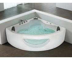 Baignoire d'angle - baignoire balnéo / whirlpool - hydromassage & chromothérapie - Tocoa