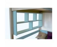 Étagère Murale - Couleur - Bleu Pastel, Dimensions - Largeur 140