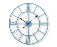 Horloge Averville, turquoise