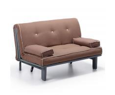 Canapé lit Capri, marron