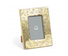 Cadre photo Clary 18x23 cm métal doré