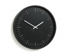 Horloge murale Onna, noir