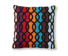 Coussin Cubby, tresse