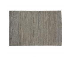 Tapis Lugan, gris clair