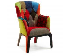 Fauteuil Adelfa, patchwork