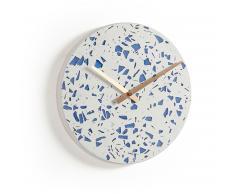 Horloge murale Alexia, bleu