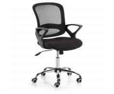 Chaise bureau Tangier, noir