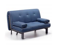 Canapé lit Capri, bleu