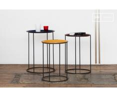 Table industrielle Gigogne tricolore