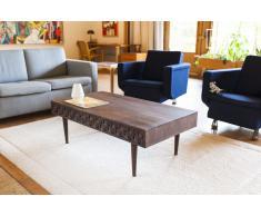 Table basse scandinave en bois Balkis