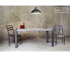 Table vintage en teck recyclé