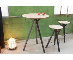 Table industrielle de bar Jetson