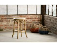 Tabouret bois Pampelune finition naturelle