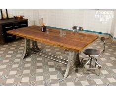 Table industrielle Normandie