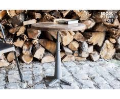 Table industrielle ronde Merritt