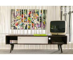 Meuble TV scandinave Brown'n White