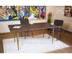 Table en bois scandinave Alienor