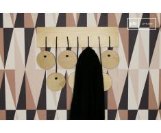 Porte manteau mural scandinave Billünd