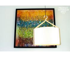Lampe vintage suspendue Cintrée