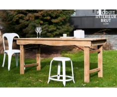 Table vintage en bois Elise