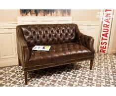 Canapé cuir Docteur Freud