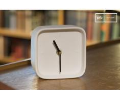 Horloge vintage en porcelaine Fjorden