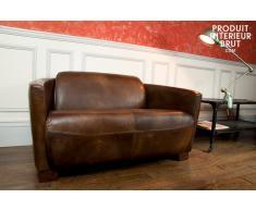 Canapé cuir Red Baron