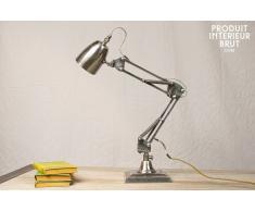 Lampe industrielle à ressorts 1957