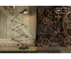 Lampadaire industriel Jielde loft martelé