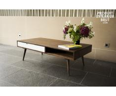 Table basse industrielle Brown'n White
