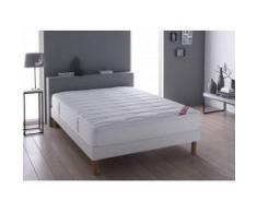 Relaxima Literie DUNLOPILLO Berri (matelas + sommier + pieds) Taille 2 x 80 x 200 cm