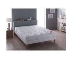 Relaxima Literie Redon (matelas + sommier + pieds) Taille 2 x 80 x 200 cm