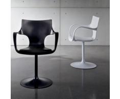 Chaise design pivotante avec accoudoirs - Flûte Sovet®