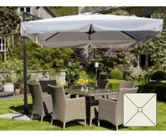 Parasol de jardin est de 2,5 mètres carré bras en aluminium bar hôt...