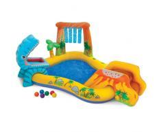 Piscine gonflable pour les enfants Intex 57444 Dinosaure Play Cente...