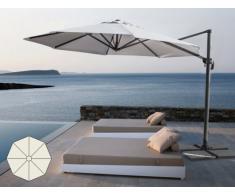 Parasol de jardin de 3 mètres avec bras décentralisée aluminium PAR...