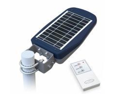Lampadaire Solaire à LED lampe poteaux d' extérieur avec Télécomman...
