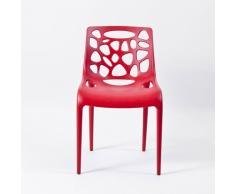 Chaise en polypropylène anti UV design moderne GELATERIA cuisine e...