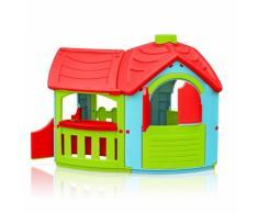 Maisonnette en plastique pour enfants jardin exterieurs VILLA TRIAN...