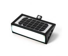 Projecteur lampe solaire lampe jardin capteur de mouvements 50 LED ...