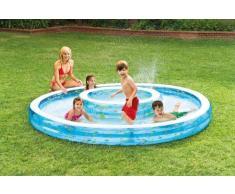 Piscine gonflable pour les enfants Intex 57143 double bassin de jeu