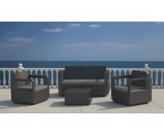 Salon de jardin en résine exterieur cafè bar 4 places VENUS