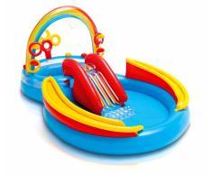 Piscine gonflable pour les enfants Intex 57453 Rainbow Ring arc-en-...